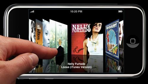 MultiTouch in iPhone