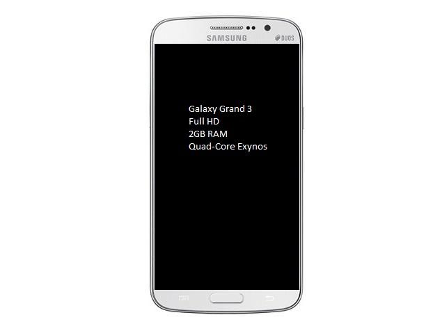 Galaxy Grand 3: Upcoming Addition In Samsung Galaxy Grand Series