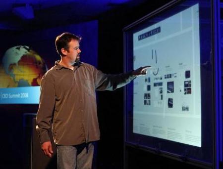 Microsoft Touchwall